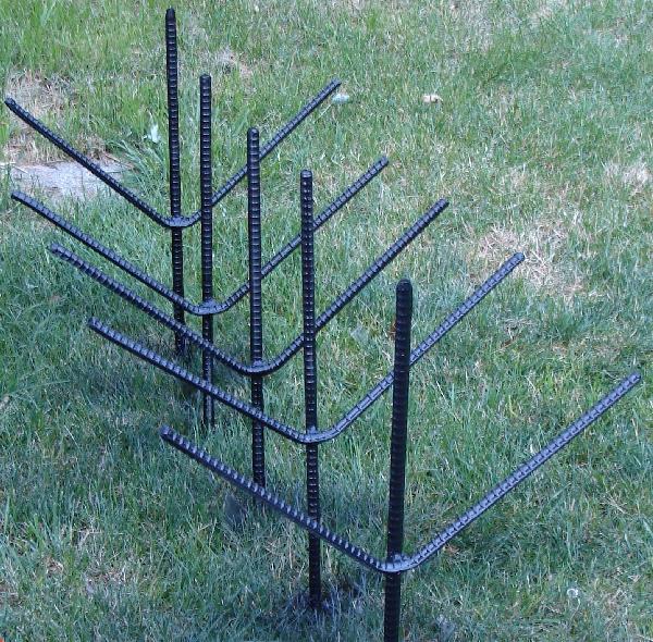 Metal Ground Canopy Stakes - Tarps - Poly Tarps, Canvas Tarps
