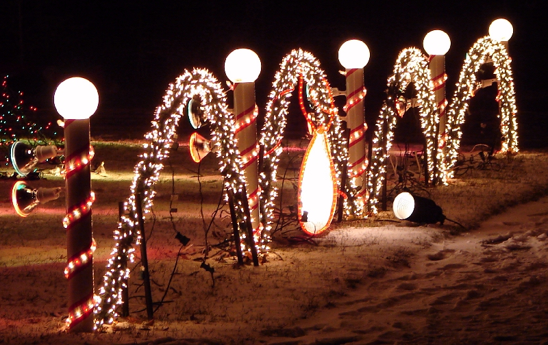 Christmas Ground Lights