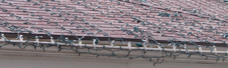 Metal Roof Christmas Light Clip
