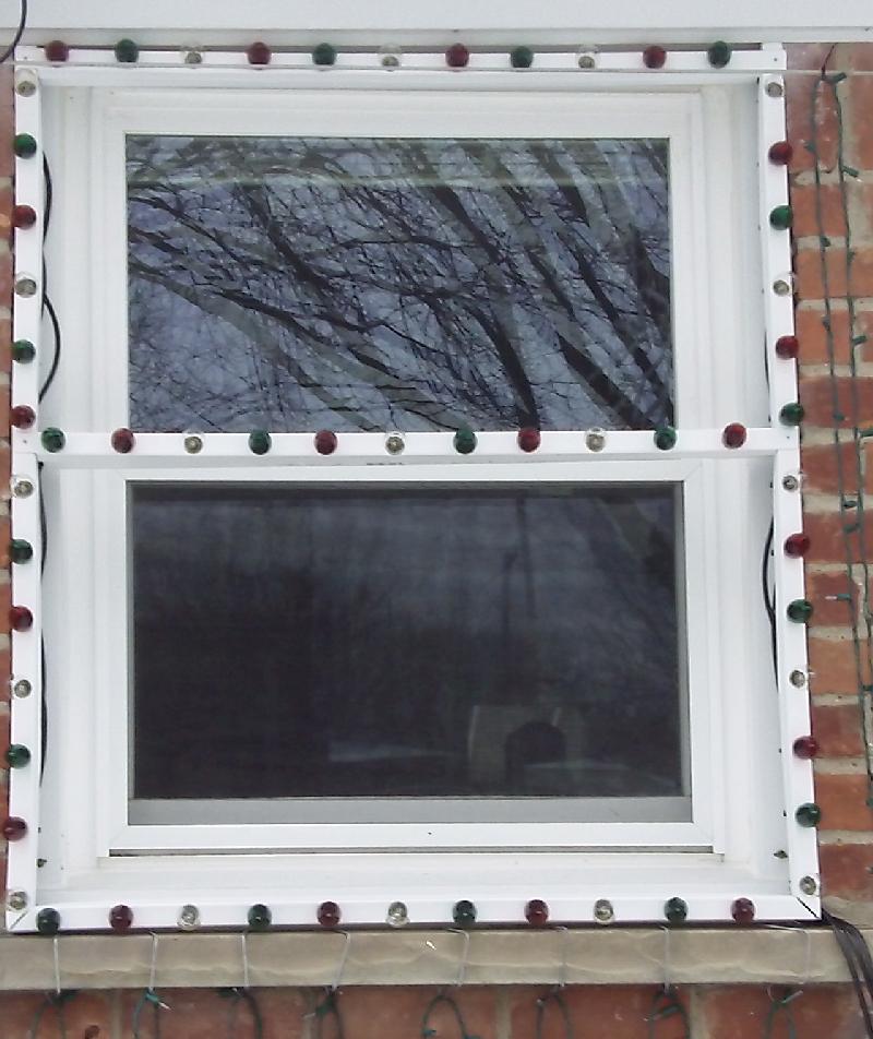 Bazillion Lights Window Frames